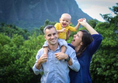Family Portrait Photographer Honolulu Oahu