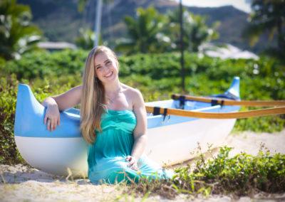 Senior Portrait Photographer Honolulu